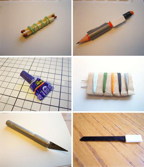 DIY Altoid Tin contents