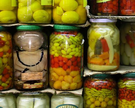 Jan Oliehoek body in a jar