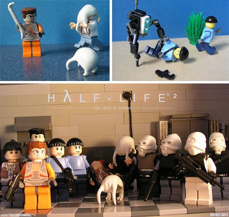 Lego Half-Life characters