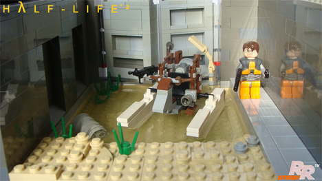 Half Life 2 Gets New Life In Awesome Lego Sculptures