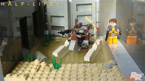 Lego Half-Life tableau 2