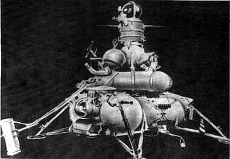 Luna 15 Russian moon spacecraft