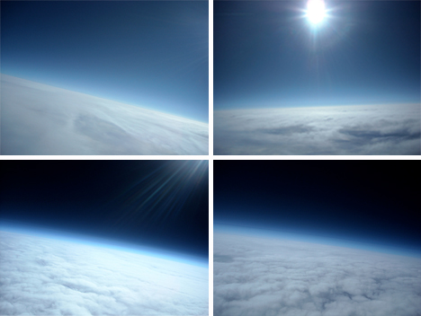 Space Balloon Clouds
