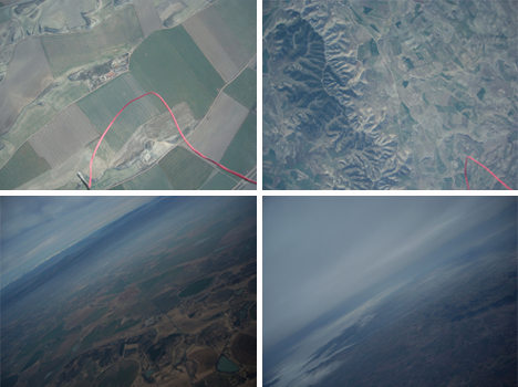 Space Balloon Earth Pictures
