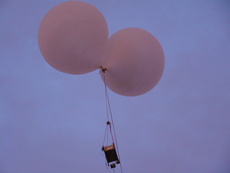 Space Balloon Released