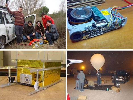 Space Balloon Team and Camera