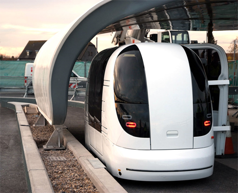 ULtra driverless taxis heathrow 2