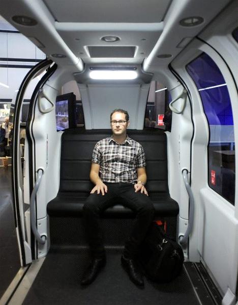 ULtra driverless taxis heathrow 3