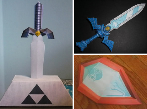 Zelda Swords and Shield