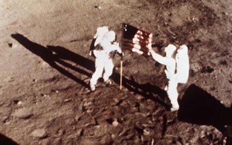 american space landing
