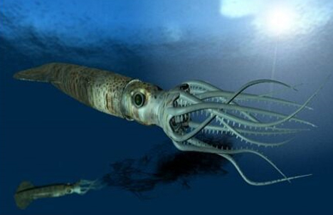artist conception sea creatures