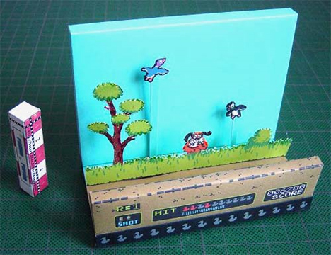 duck hunt diorama