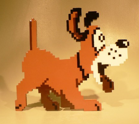 duck hunt dog standup