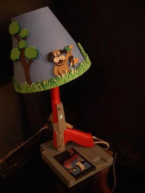 duck hunt lamp