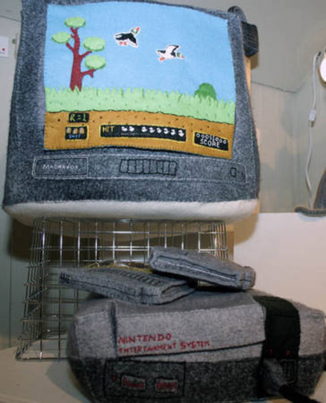 embroidered plush nintendo