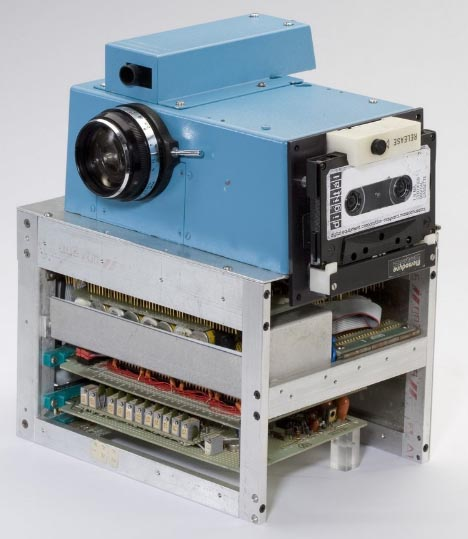 first digital camera design