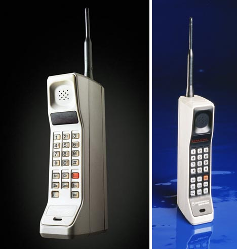 first mobile cellular phone