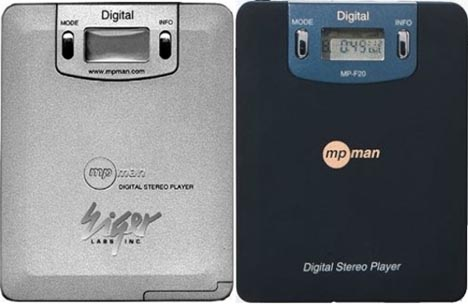 first mp3 player design