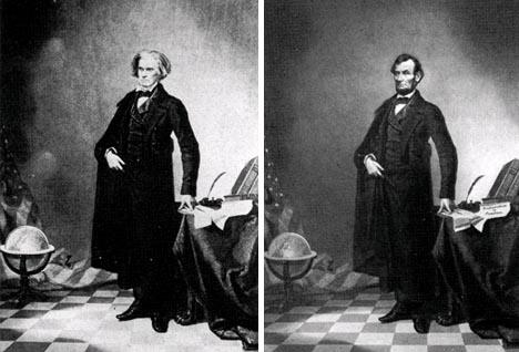 historic president lincoln portrait edited