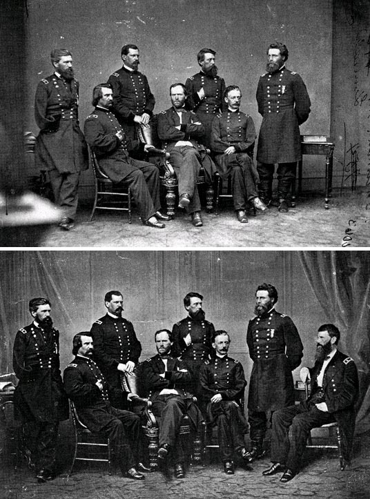 historical war generals edited photo