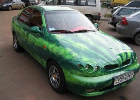 watermelon car