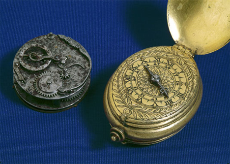 16th century timepieces