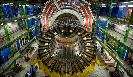 CERN LHC particle accelerator