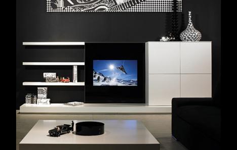 borderless ad notam glass tv setup