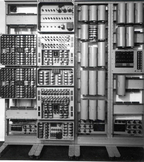 harwell computer closeup