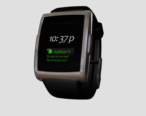 inpulse blackberry smartphone watch