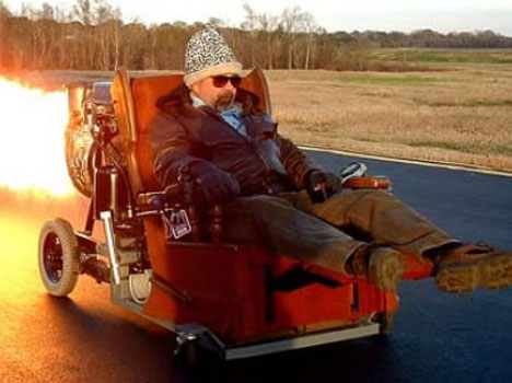 jet powered armchair