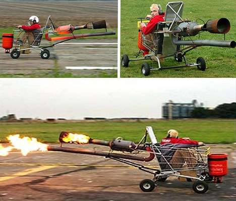 jet powered shopping cart