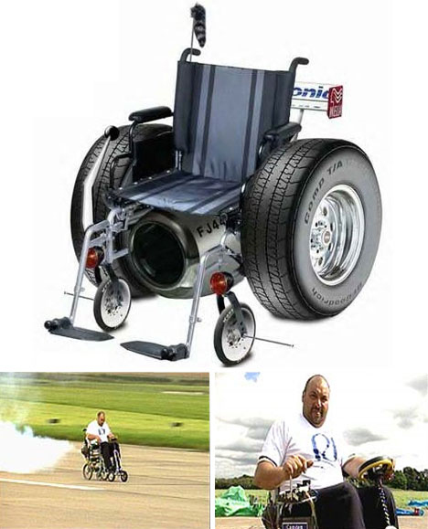 jet powered wheelchair