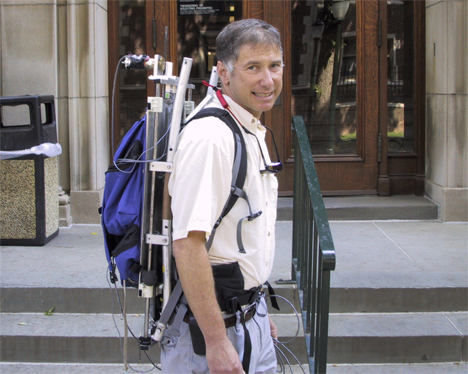larry c rome energy generating backpack