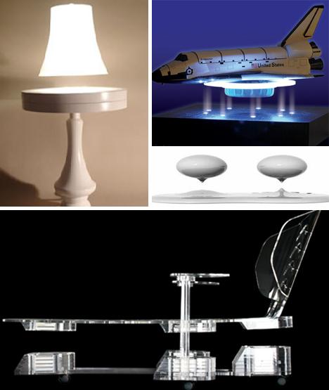 levitating objects
