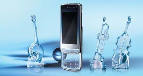 lg gd900 transparent cell phone