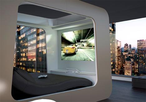 luxury bed built in video games