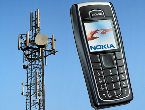 nokia cell phone charges electromagnetic waves