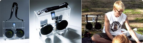 nokia transparent ghetto blaster
