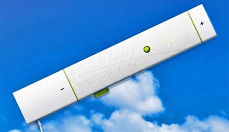 photosynthesis solar powered leaf phone