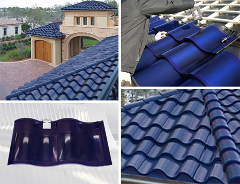 sole solar power generating shingles
