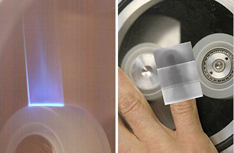 sticky tape triboluminescence x rays