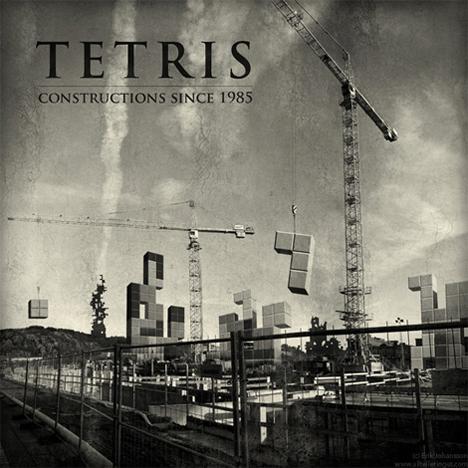 tetris construction