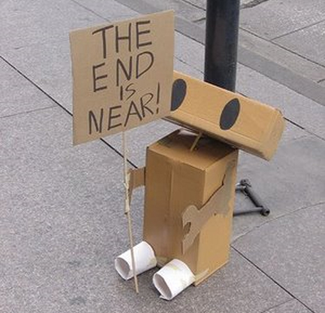 the end is near robot