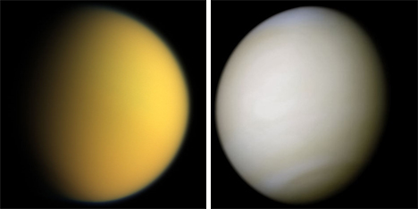titan and venus potential habitability
