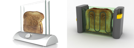 transparent toaster concepts