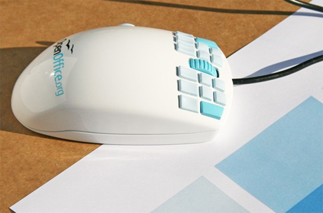 18 button open office mouse
