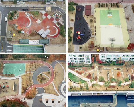 Hosang Park photos of public parks and spaces korea
