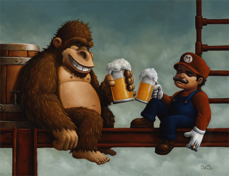 bob dob mario and donkey kong