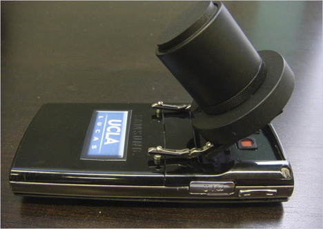 cell phone microscope